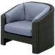 Gloster Horizon Deep Seating Outdoor Armchair from John Lewis