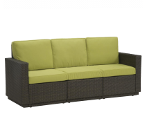 Riviera 3 Seater Sofa with Cushions